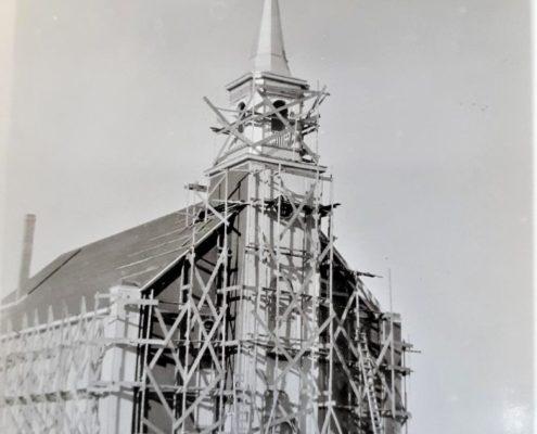 Zenon Park church, built in 1930