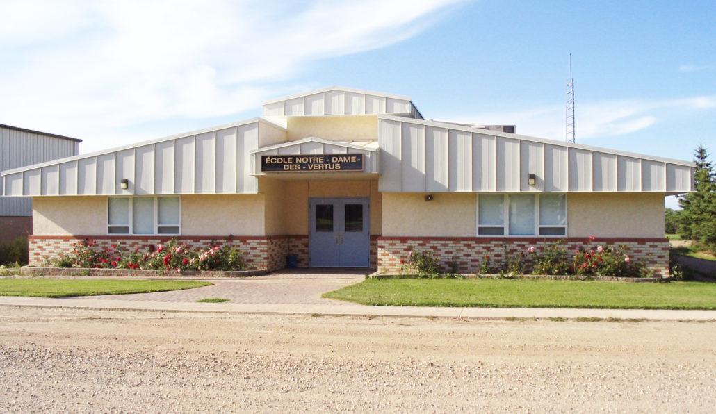 The construction of École Notre-Dame-des-Vertus began in 1998
