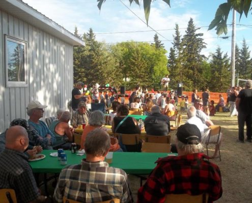 Zenon Park residents gather for Saint Jean Baptiste Day celebrations