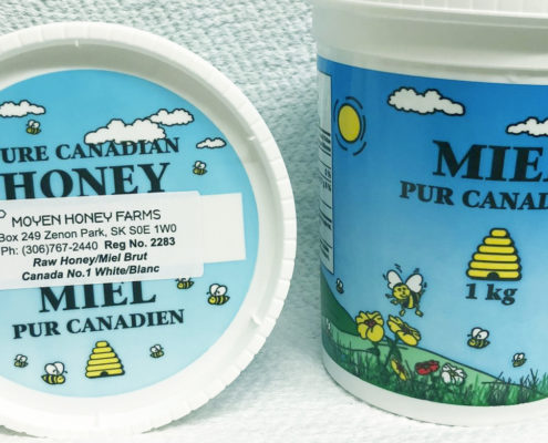 Local Moyen Honey Farm products can be bought at AFZP office