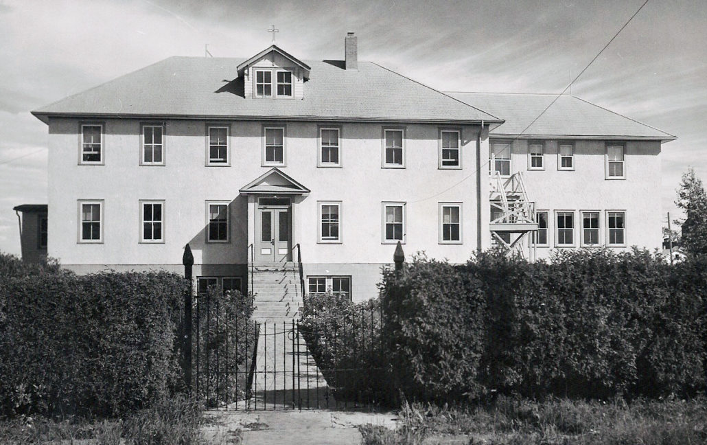 The Sacred Heart Convent was built in 1936.
