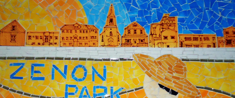 Zenon Park - Tableau en tuile