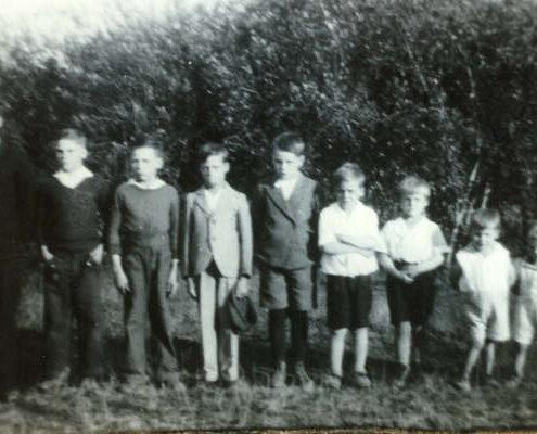 Marchildon family in 1936